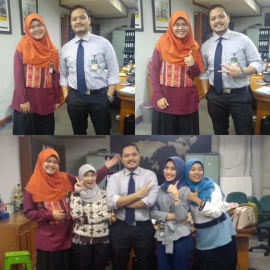 Mas Iskandar with the teletubbies